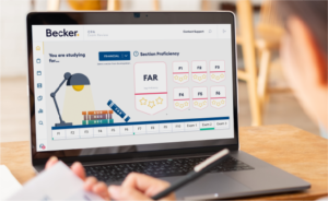 Becker CPA Review Course - Backend Dashboard